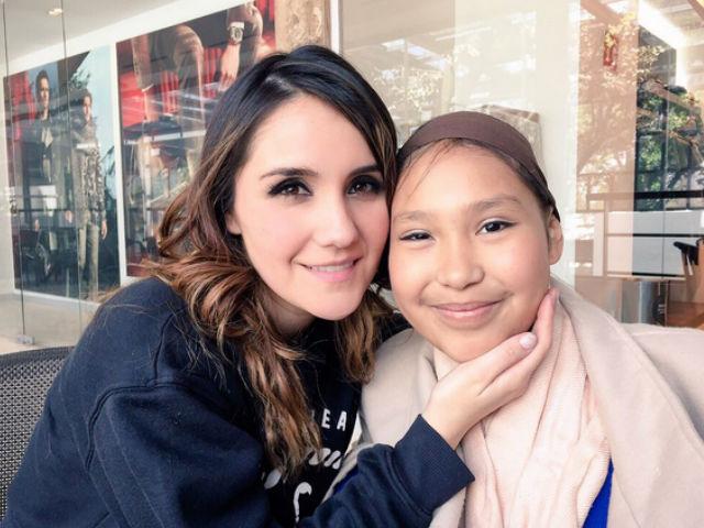 Dulce María recordó con cariño a una fan que murió víctima de cáncer (video)