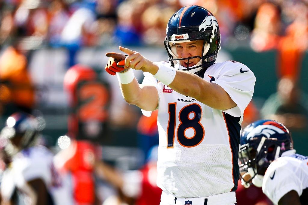 Peyton Manning buscará este domingo ganar su tercer Super Bowl.