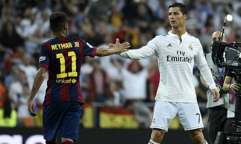 Amigos felicitan a Cristiano Ronaldo y Neymar por su cumpleaños