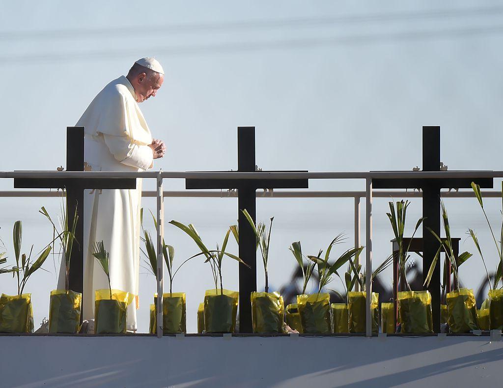 El Papa dedicó su última homilía en México a hablar de la tragedia de la migración forzada.