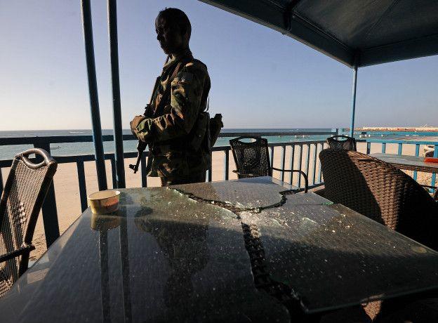 Las Fuerzas Armadas Especiales lograron responder el ataque y rescatar a las personas que estaban encerradas en el restaurante.