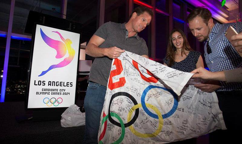 Mayoría de angelinos avalan candidatura olímpica