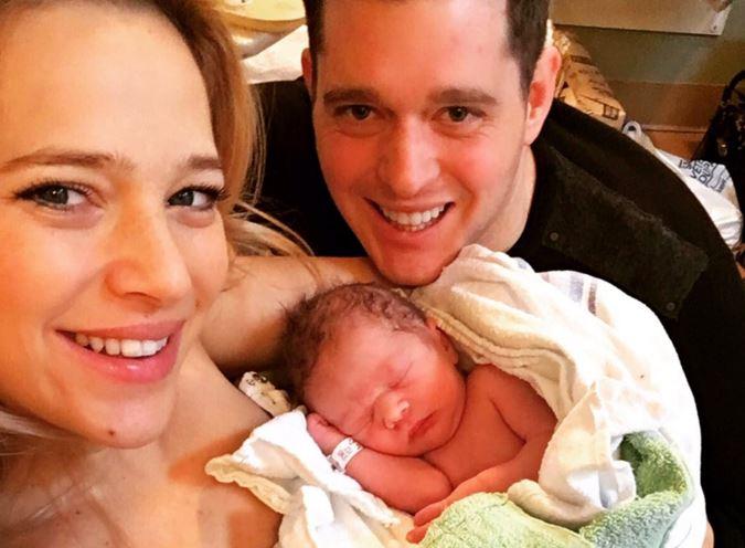 Michael Bublé y Luisana Lopilato bautizan 'en secreto' a su hijo Elías
