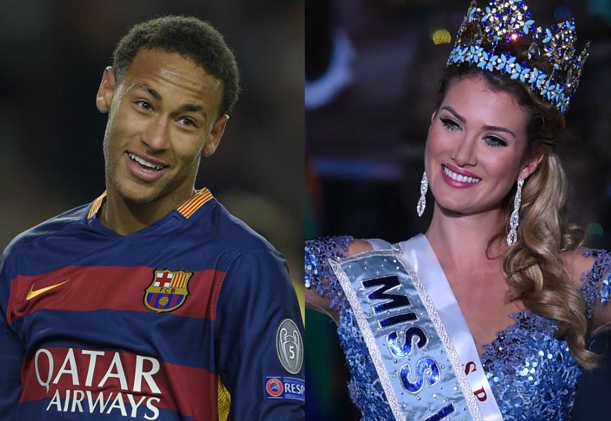 ¿Solo amigos? La modelo y el futbolista han sido vistos en el juntos en el mismo restaurante en más de una ocasión.