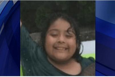 La pequeña Shayla Pichardo iba rumbo a la escuela.