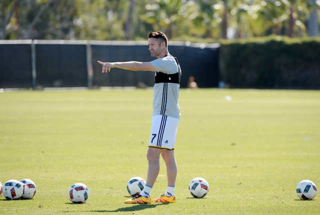 Robbie Keane se pone como meta superar lo hecho la temporada pasada con el Galaxy.