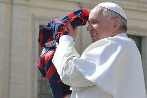 El Papa Francisco estaría en el partido entre San Lorenzo y la Roma