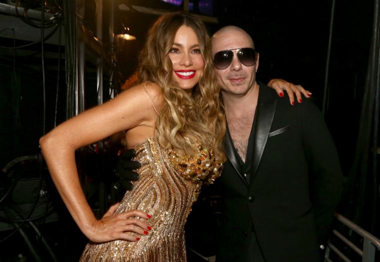 Sofia Vergara 58th Grammy Awards