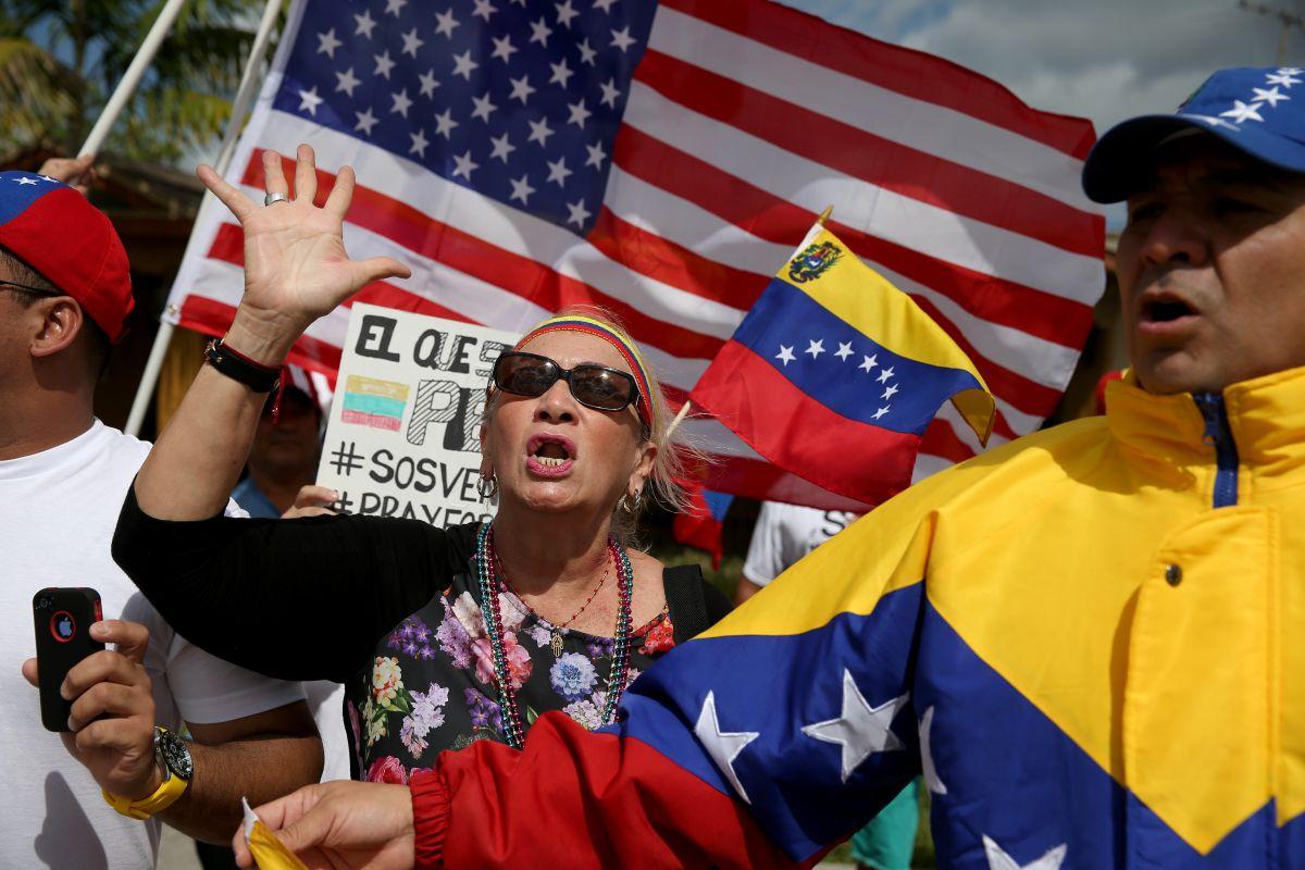 La mayoría de los venezolanos que pide asilo describe una situación de inseguridad e inestabilidad política en su país.