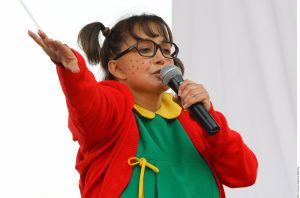 María Antonieta de las Nieves volvió a ser la Chilindrina y recreó una famosa escena de El Chavo del 8