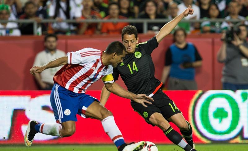 México enfrentará a Paraguay previo a la Copa América Centenario
