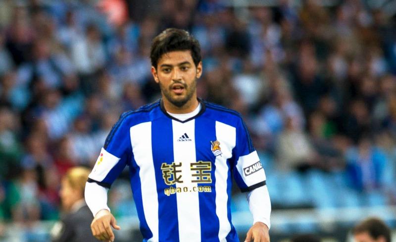 Carlos Vela es separado del primer equipo de la Real Sociedad como castigo