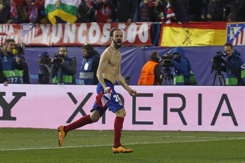 Juanfran fue el que marcó la diferencia en esta jornada de Champions.