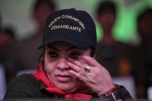 Nestora Salgado regresa a EEUU; promete regresar a México