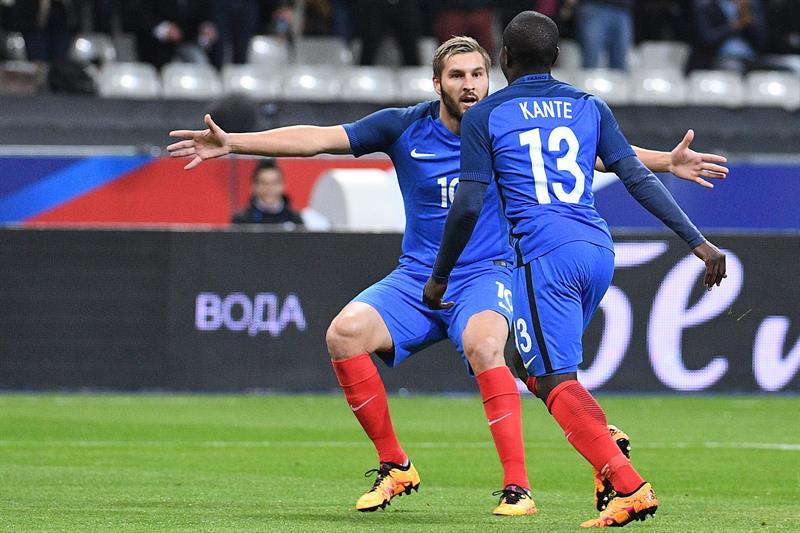 Gignac anota en el festín de goles entre Francia y Rusia