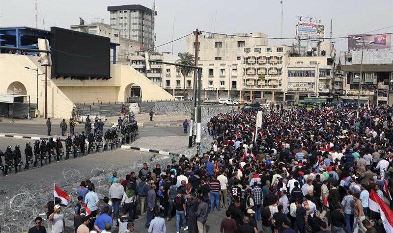 Se registra atentado terrorista en estadio de fútbol de Irak