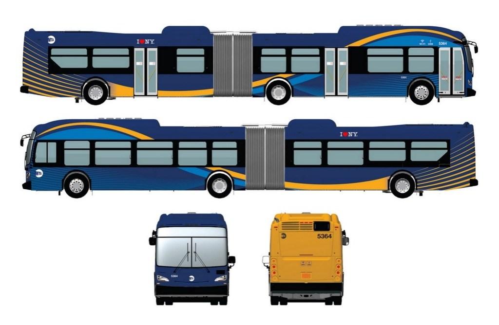 El número de puertos USB en los nuevos buses estará entre los 35 a 55.