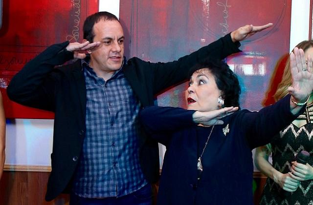 Llora Carmen Salinas por la culpa de Cuauhtémoc Blanco