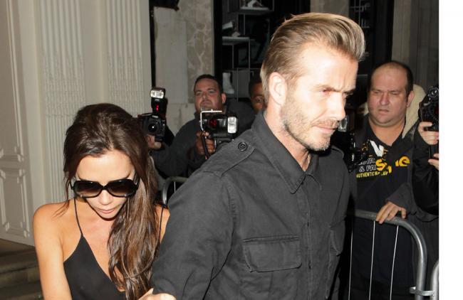 ¡Que buen esposo! David Beckham salvó negocio de su mujer