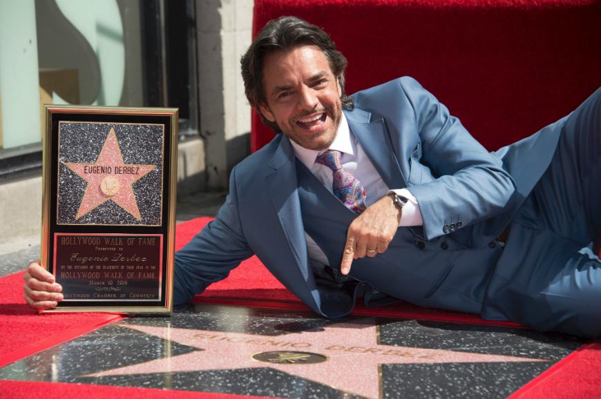 ¡Eugenio Derbez ya tiene estrella!