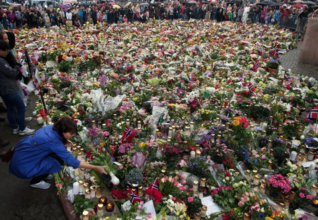 Anders Behring Breivik inició un tiroteo que el 22 de julio de 2011 dejó al menos 77 personas muertas en un campamento estudiantil en la isla de Utoya.