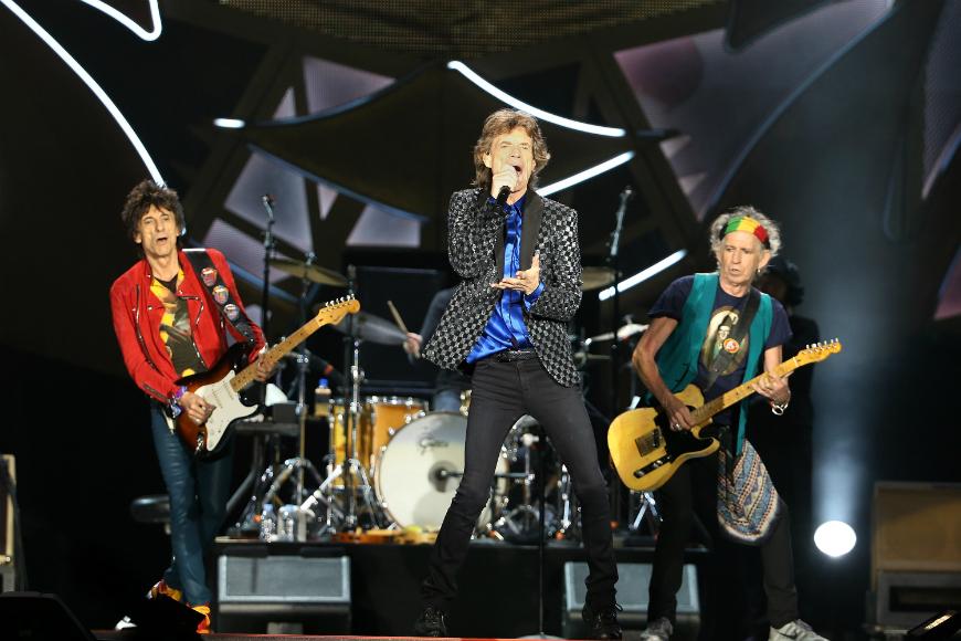 """Mick Jagger, Keith Richards, Charlie Watts y Ronnie Wood se presentarán en La Habana en el marco de su gira """"Olé"""" por América Latina."""