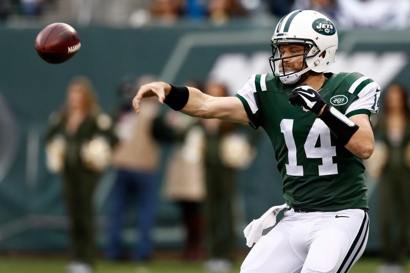 El quarterback Ryan Fitzpatrick tuvo una muy buena temporada 2015 con los Jets, pero no es seguro que siga vestido de verde en 2016.