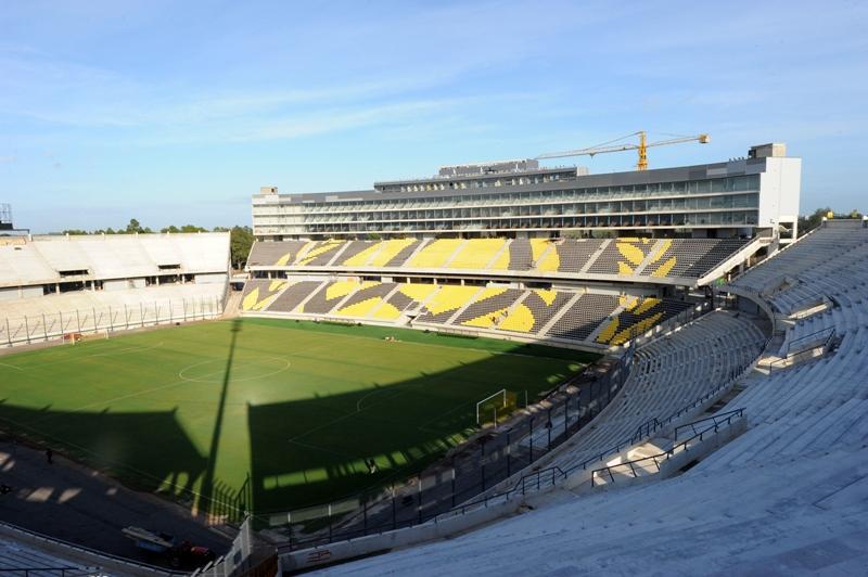 Postergan por mal tiempo la inauguración de nuevo estadio de Peñarol