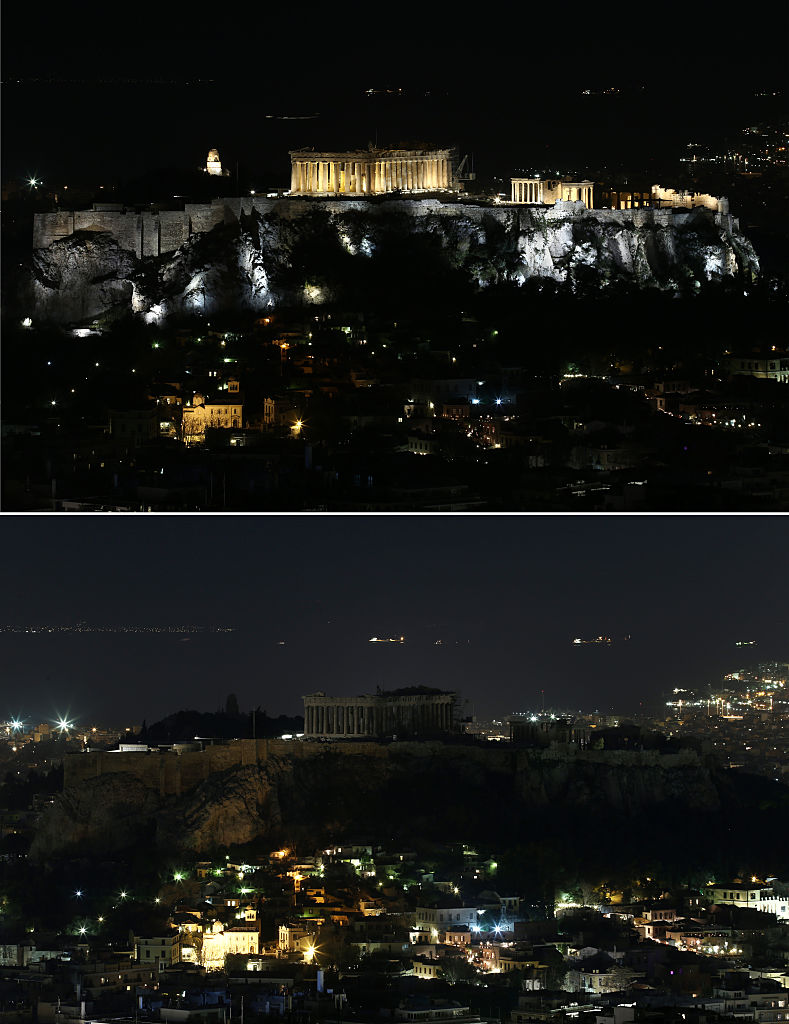 EN FOTOS: El mundo celebra La Hora del Planeta