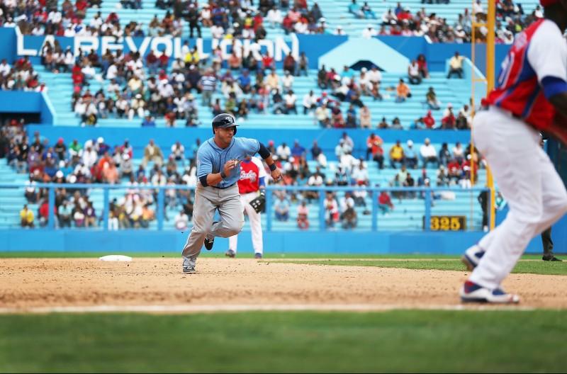 Rays derrotan a Cuba en histórico juego de béisbol