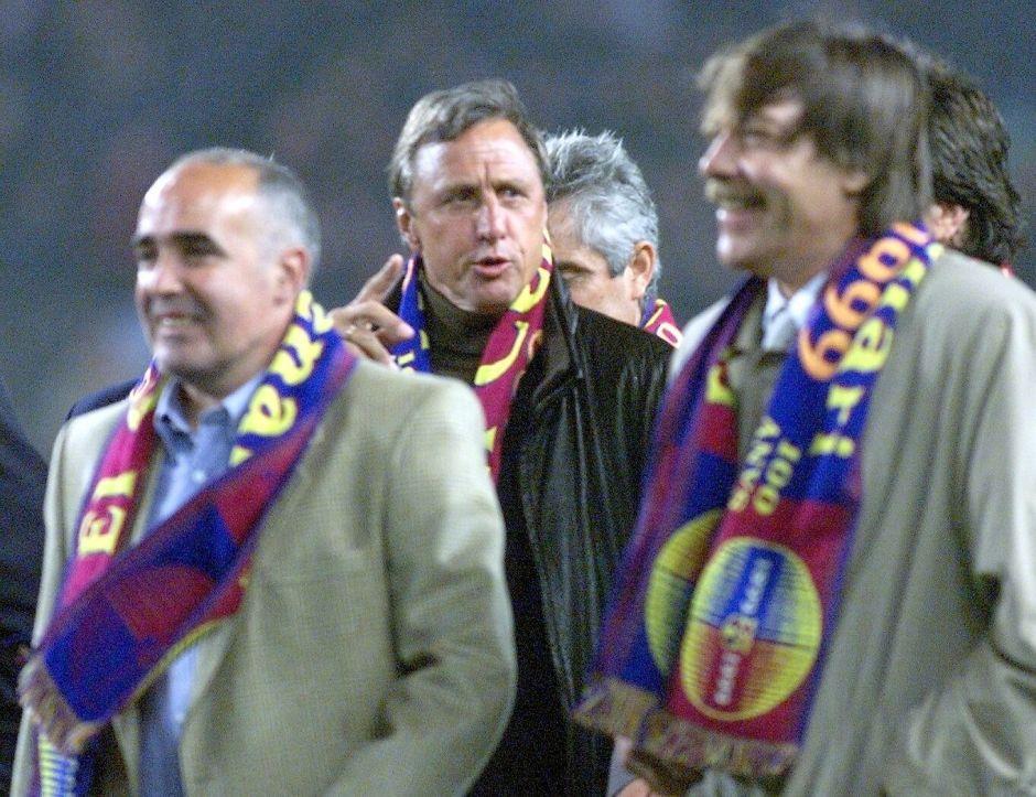 Familia de Johan Cruyff se desmarca del homenaje del Barcelona