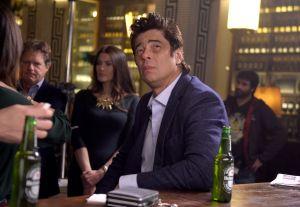 La estrella verde de Benicio del Toro