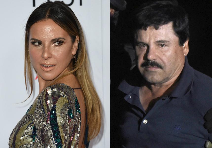 Kate del Castillo denuncia que persecución por reunirse con El Chapo Guzmán se complica