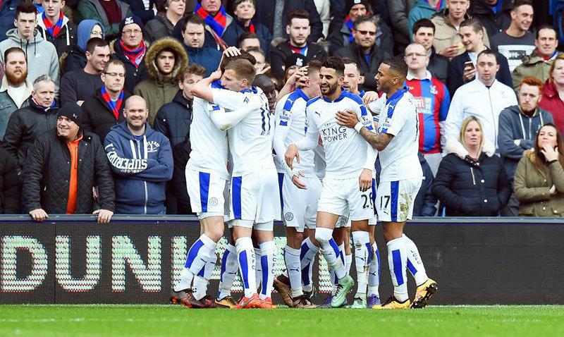 El solitario gol que mantiene al Leicester City con la ilusión de ganar la Premier League