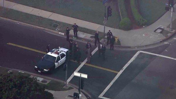 Disparan contra agente policial en Leimert Park