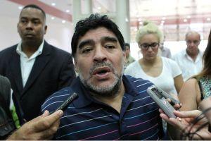 Maradona opinó sobre el penal de Messi