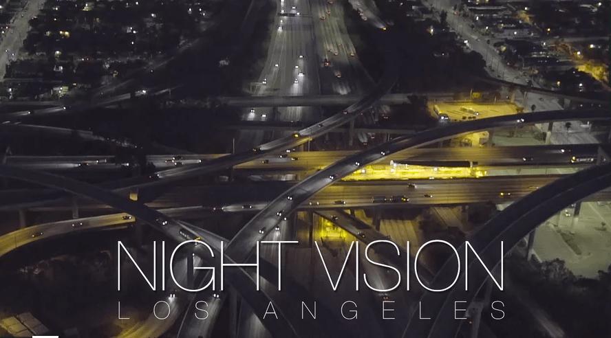 #BuenosDíasLA: De noche, Los Ángeles es aún más bella