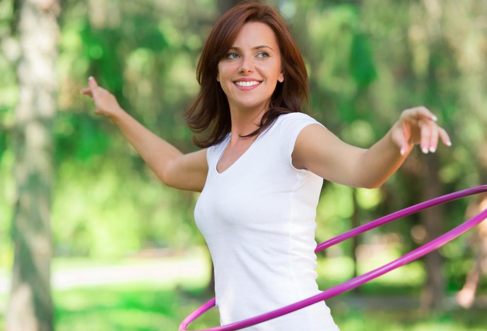Quema calorías y diviértete con el 'hula hoop'