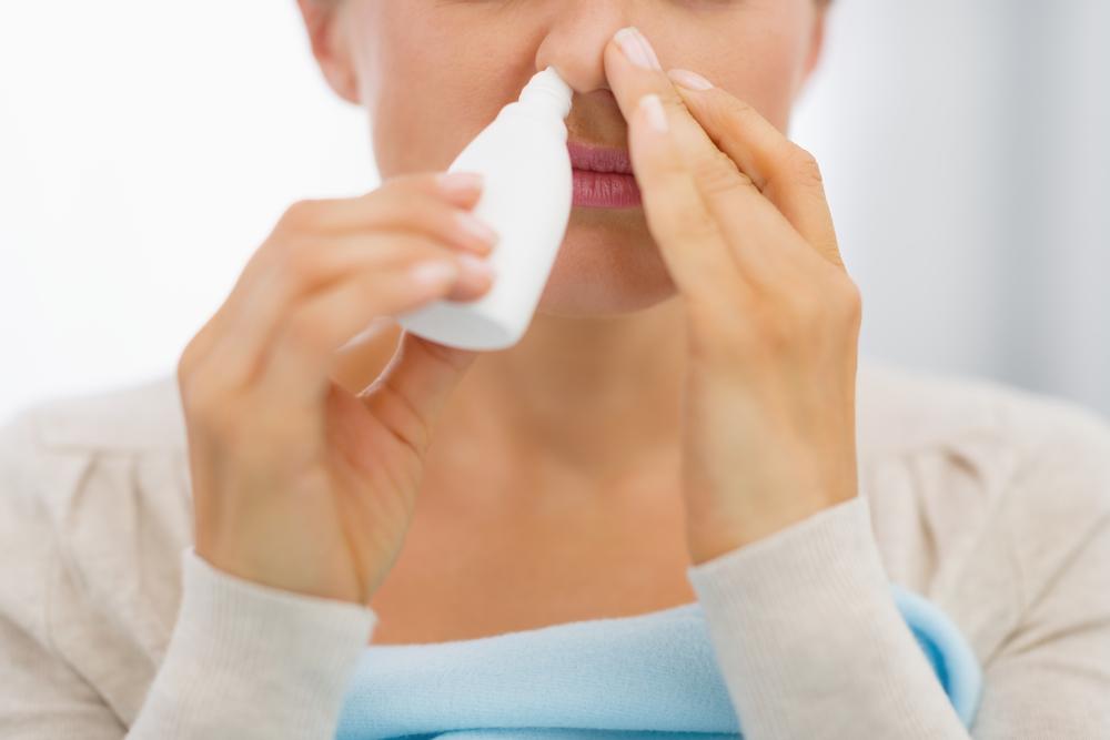 Cuando los sprays nasales te enferman más