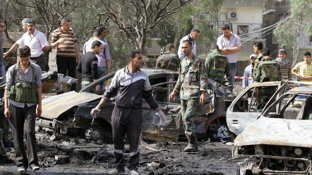 En 2012, la violencia llegó a la capital, Damasco, y a la segunda ciudad en importancia, Alepo.