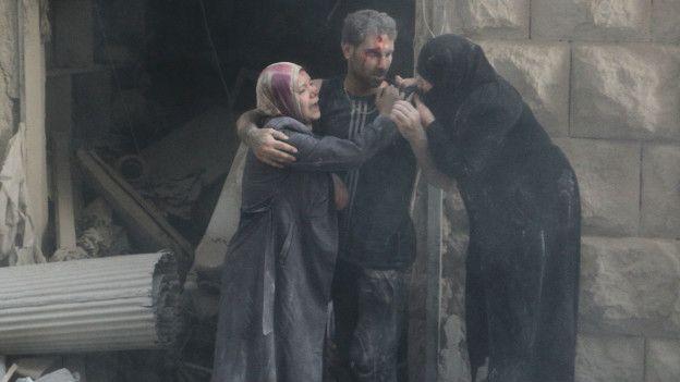 La ONU ha sido clara en afirmar que civiles han sido deliberadamente escogidos como blancos de guerra.