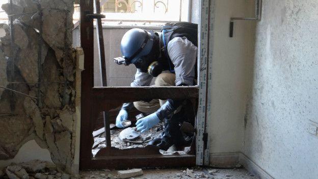 En Siria se han documentado ataques con armas químicas.