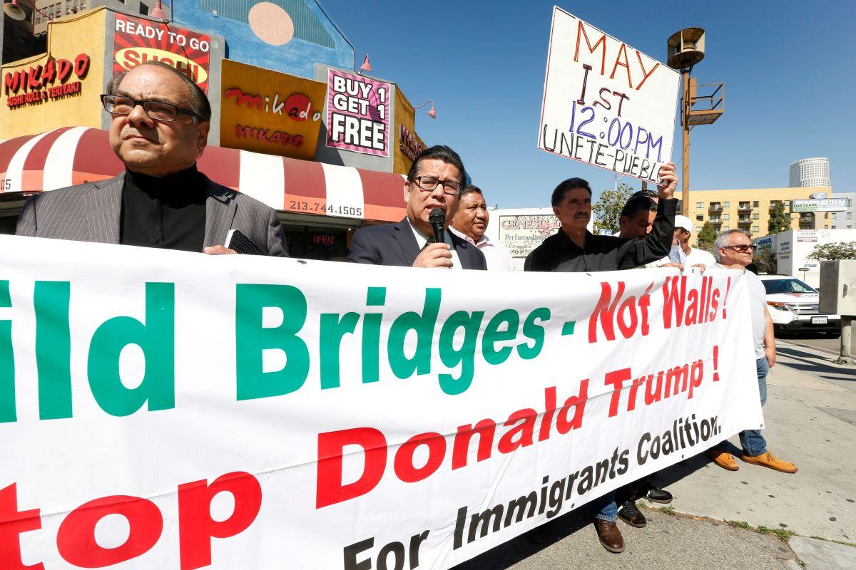 Marcharán este Primero de Mayo contra el odio racial en Los Ángeles