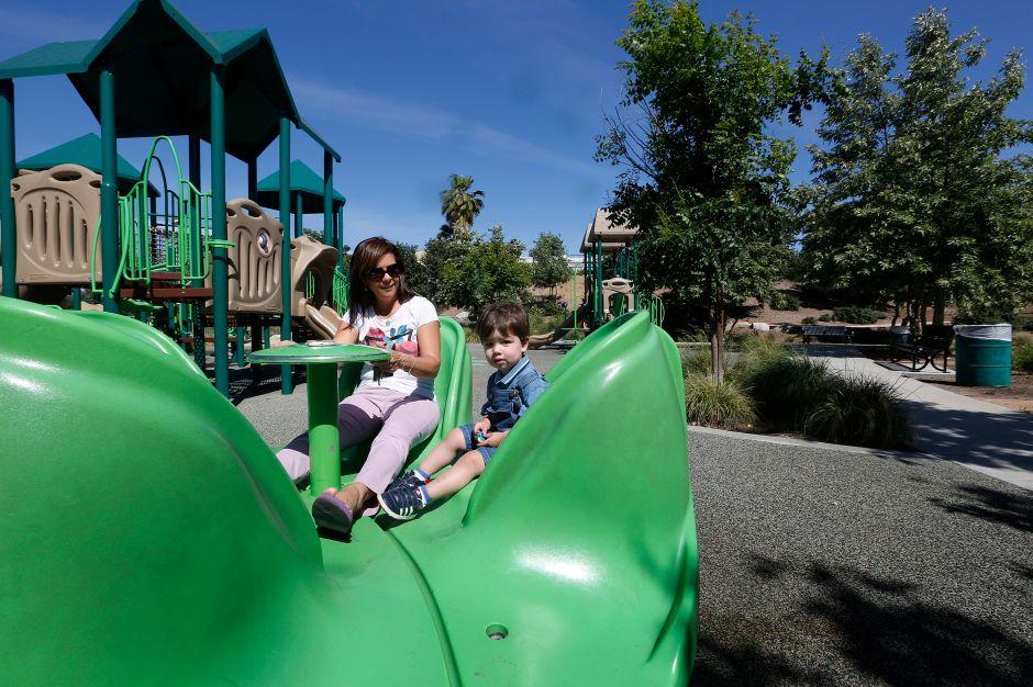 Parque El Sereno Arroyo Playground (Foto: Aurelia Ventura/La Opinion)