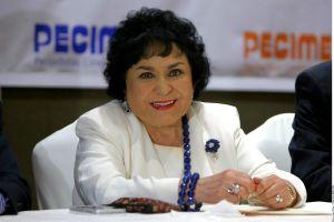 Carmen Salinas expresa su apoyo a María Sorté tras el atentado que sufrió su hijo, Omar García Harfuch