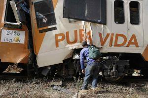 Reportan al menos 106 heridos en choque de trenes en Costa Rica (video)