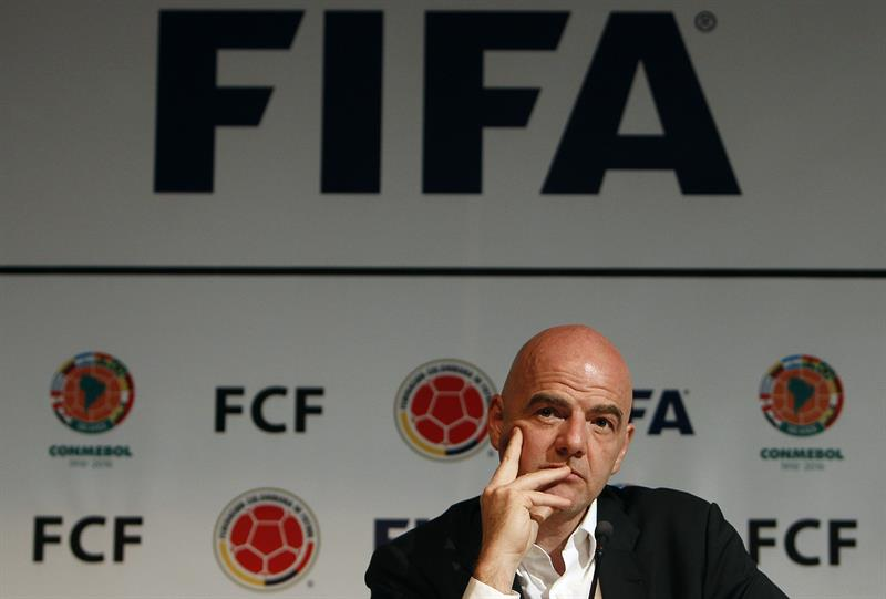 """Gianni Infantino aparece en el escándalo de """"Panamá papers"""", pero él lo niega"""