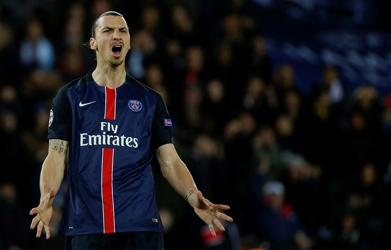 Video: Zlatan Ibrahimovic falla penal ante el Man City en la Champions