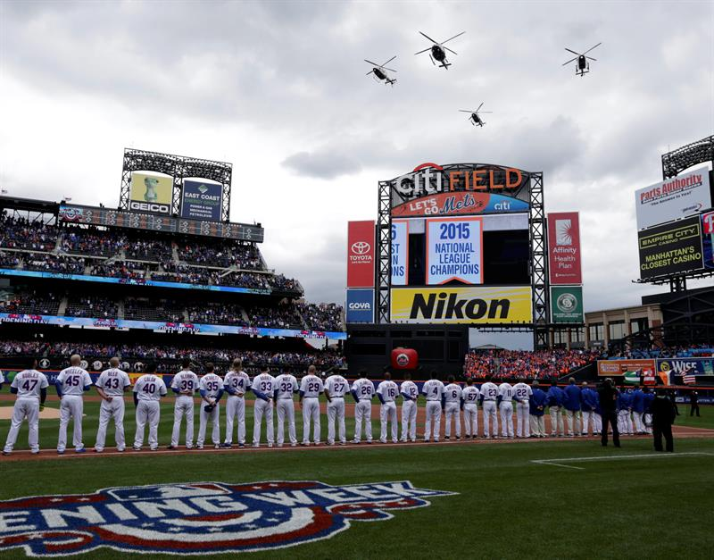 Los Mets se siguen preparando en sus casas.