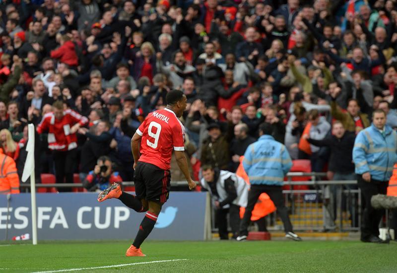 De Gea y Martial meten al Manchester United a la Final de la FA Cup